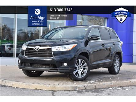 2016 Toyota Highlander XLE (Stk: A0058) in Ottawa - Image 1 of 30