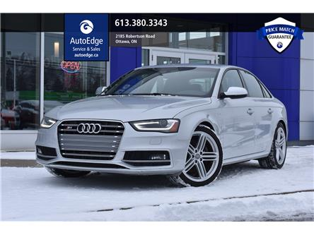 2014 Audi S4 3.0 Progressiv (Stk: A0134) in Ottawa - Image 1 of 28