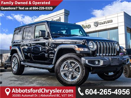 2019 Jeep Wrangler Unlimited Sahara (Stk: AB1010) in Abbotsford - Image 1 of 25