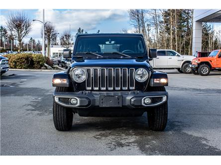 2019 Jeep Wrangler Unlimited Sahara (Stk: AB1010) in Abbotsford - Image 2 of 25