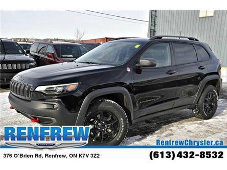 2020 Jeep Cherokee Trailhawk (Stk: L036) in Renfrew - Image 1 of 30