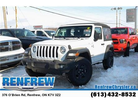 2019 Jeep Wrangler Sport (Stk: K415) in Renfrew - Image 1 of 24