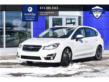 2015 Subaru Impreza 2.0i (Stk: A0151) in Ottawa - Image 1 of 28