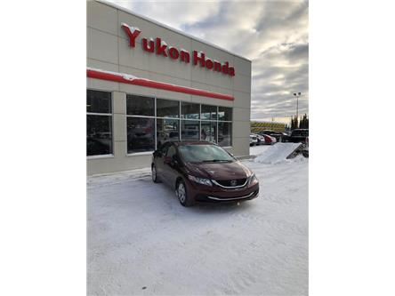 2014 Honda Civic LX (Stk: ) in Whitehorse - Image 1 of 4