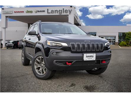 2020 Jeep Cherokee Trailhawk (Stk: L558655) in Surrey - Image 1 of 22