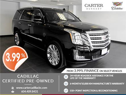 2017 Cadillac Escalade Platinum (Stk: P9-60980) in Burnaby - Image 1 of 26