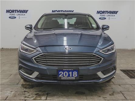 2018 Ford Fusion SE | NAV | HTD LEATHER | PUSH START | REMOTE START (Stk: FU88960) in Brantford - Image 2 of 39