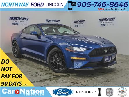 2018 Ford Mustang ECOBOOST | NAV | PUSH START | PERFORMANCE PKG | (Stk: MU88874) in Brantford - Image 1 of 35