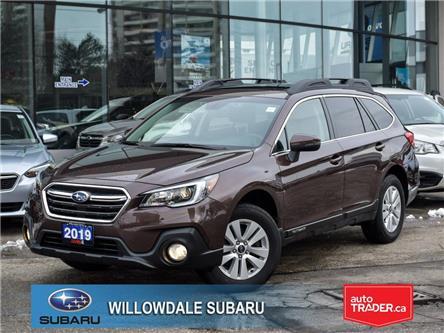 2019 Subaru Outback 2.5i Touring w-EyeSight Pkg >>NO ACCIDENT<< (Stk: 19D72) in Toronto - Image 1 of 28