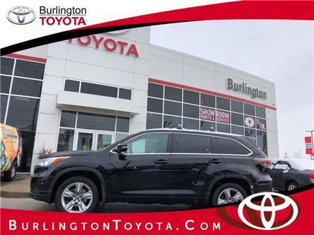 2016 Toyota Highlander Limited (Stk: U11003) in Burlington - Image 1 of 19