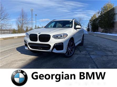 2020 BMW X3 xDrive30i (Stk: B20098) in Barrie - Image 1 of 13