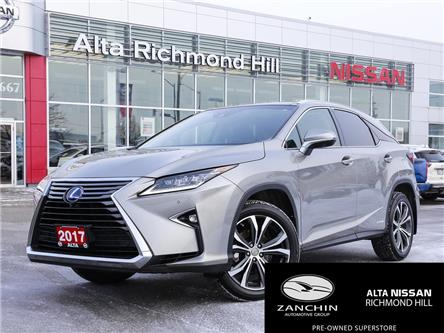 2017 Lexus RX 450h Base (Stk: RY20P014A) in Richmond Hill - Image 1 of 26