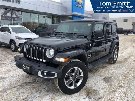 2019 Jeep Wrangler Unlimited Sahara (Stk: 65038R) in Midland - Image 1 of 21