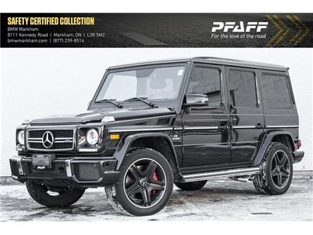 2017 Mercedes-Benz AMG G 63 Base (Stk: 38476A) in Markham - Image 1 of 20