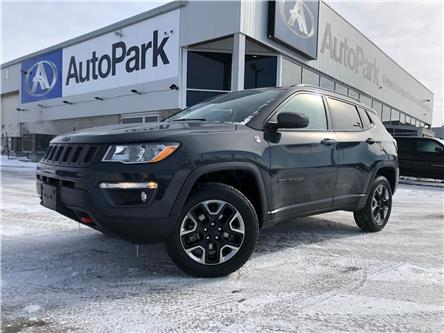 2018 Jeep Compass Trailhawk (Stk: 18-12585RJB) in Barrie - Image 1 of 24