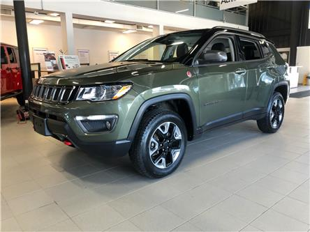 2018 Jeep Compass Trailhawk (Stk: 18-22107RJB) in Barrie - Image 1 of 28
