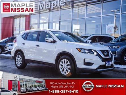 2018 Nissan Rogue S|Blind Spot Warning|Apple CarPlay|Heated Seats (Stk: UM1697) in Maple - Image 1 of 22