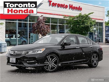 2016 Honda Accord Sedan Sport (Stk: H40016P) in Toronto - Image 1 of 27