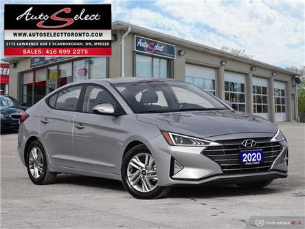 2020 Hyundai Elantra Preferred w/Sun & Safety Package (Stk: 12HETP3) in Scarborough - Image 1 of 29