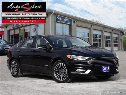 2018 Ford Fusion Hybrid Titanium (Stk: 1TF7H61) in Scarborough - Image 1 of 27