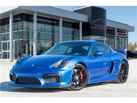 2016 Porsche Cayman GT4 (Stk: 20HMS181) in Mississauga - Image 1 of 23