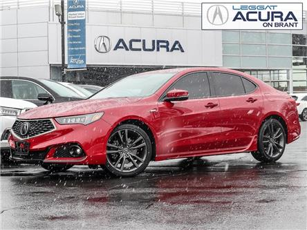 2019 Acura TLX Tech A-Spec (Stk: 4199) in Burlington - Image 1 of 29