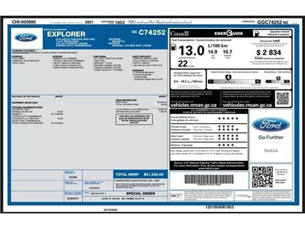 2016 Ford Explorer Platinum (Stk: V4252) in Chatham - Image 2 of 30