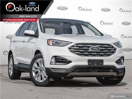 2020 Ford Edge Titanium (Stk: 0D026) in Oakville - Image 1 of 27