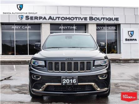 2016 Jeep Grand Cherokee Overland (Stk: P1384B) in Aurora - Image 2 of 26