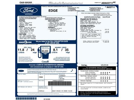 2010 Ford Edge SEL (Stk: 151500AXZ) in Kitchener - Image 2 of 6