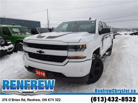 2018 Chevrolet Silverado 1500 Silverado Custom (Stk: SLJ202A) in Renfrew - Image 1 of 24