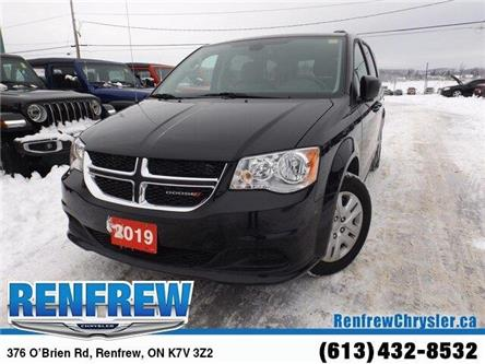 2019 Dodge Grand Caravan CVP/SXT (Stk: P1714) in Renfrew - Image 1 of 28