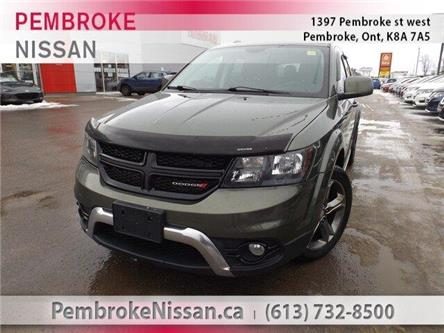 2016 Dodge Journey Crossroad (Stk: 19153B) in Pembroke - Image 1 of 29