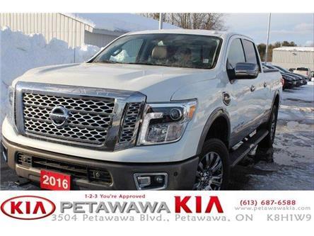 2016 Nissan Titan XD Platinum Reserve Gas (Stk: P0037) in Petawawa - Image 1 of 30