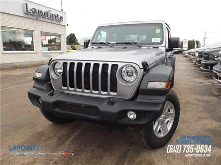 2020 Jeep Gladiator Sport S (Stk: 20054) in Pembroke - Image 1 of 25