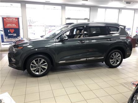 2020 Hyundai Santa Fe Luxury 2.0 (Stk: 9887) in Smiths Falls - Image 1 of 11