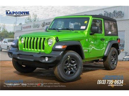 2019 Jeep Wrangler Sport (Stk: 19272) in Pembroke - Image 2 of 20