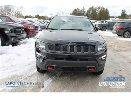 2018 Jeep Compass Trailhawk (Stk: 19637) in Pembroke - Image 2 of 30