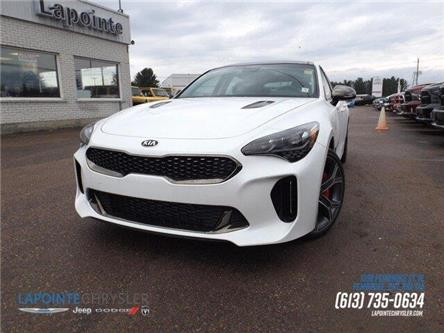 2019 Kia Stinger GT (Stk: P3522) in Pembroke - Image 1 of 29