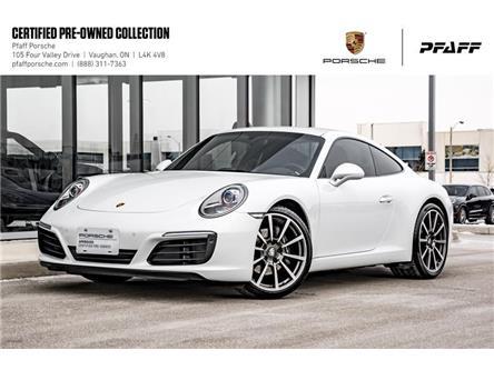 2018 Porsche 911 Carrera Coupe (991) w/ PDK (Stk: U8537) in Vaughan - Image 1 of 22