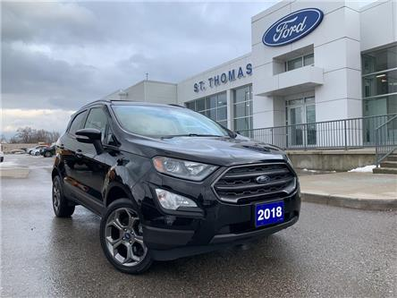 2018 Ford EcoSport SES (Stk: A6897A) in St. Thomas - Image 1 of 28