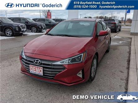 2020 Hyundai Elantra Preferred IVT (Stk: 20002) in Goderich - Image 1 of 17