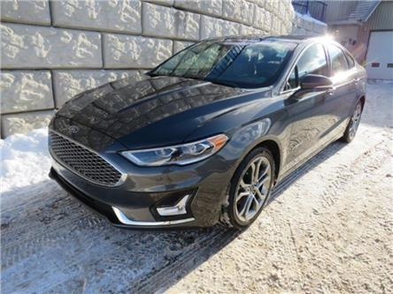 2019 Ford Fusion Hybrid Titanium (Stk: D00523P) in Fredericton - Image 1 of 23