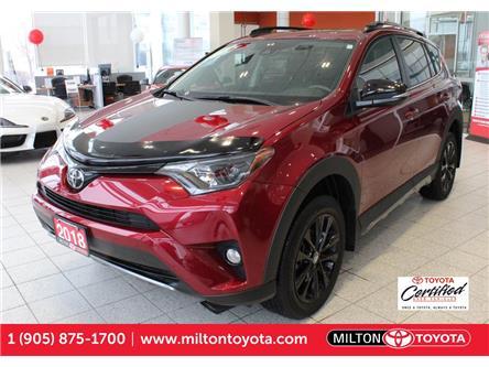 2018 Toyota RAV4 XLE (Stk: 700529A) in Milton - Image 1 of 39