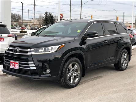 2018 Toyota Highlander Limited (Stk: W4986) in Cobourg - Image 1 of 24
