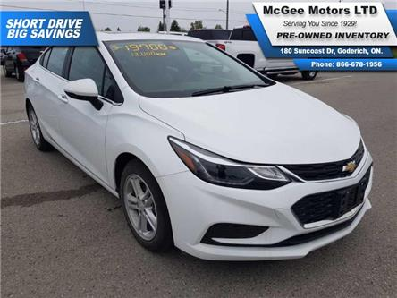 2018 Chevrolet Cruze LT Auto (Stk: A203941) in Goderich - Image 1 of 22
