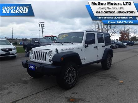 2014 Jeep Wrangler Unlimited Rubicon (Stk: 150580) in Goderich - Image 1 of 25