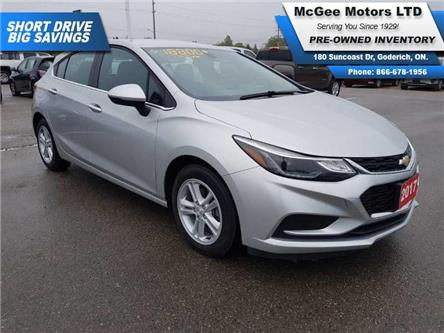 2017 Chevrolet Cruze Hatch LT Auto (Stk: 515112) in Goderich - Image 1 of 22