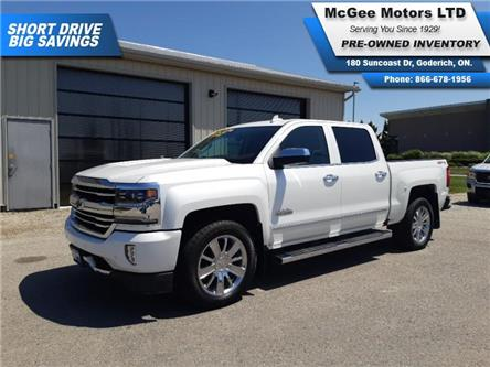 2017 Chevrolet Silverado 1500 High Country (Stk: 510839) in Goderich - Image 1 of 30