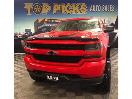 2018 Chevrolet Silverado 1500 Silverado Custom (Stk: 381060) in NORTH BAY - Image 1 of 25